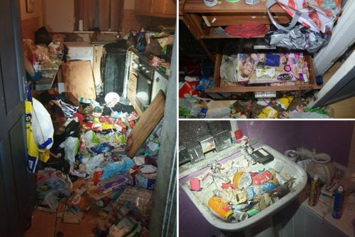 Children found living in 'Victorian slum' surrounded by rubbish & dog poo