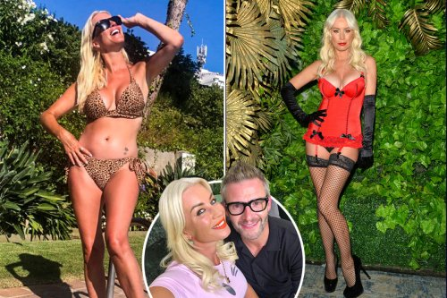 I have give boyfriend a private dance to keep him happy, says Denise van Outen