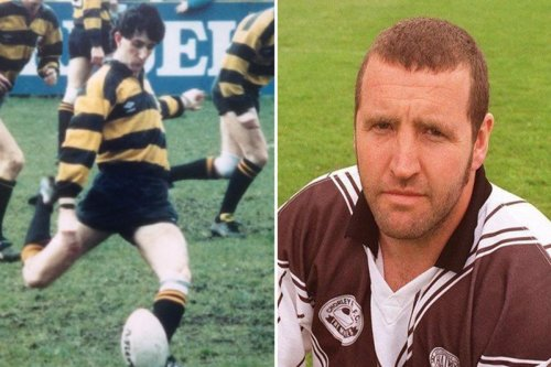 Tributes to 'much-loved' ex-rugby player, 55, who drowned in front of his kids