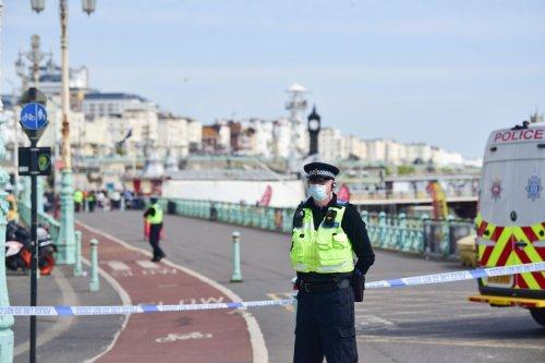 Brighton Beach evacuated in 16C warm spell after 'suspicious device' found