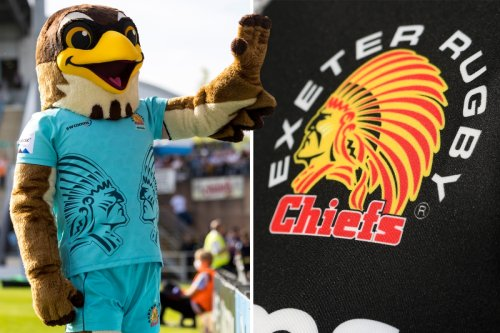 Exeter Chiefs' new offensive mascot trolls Native Americans, say campaigners