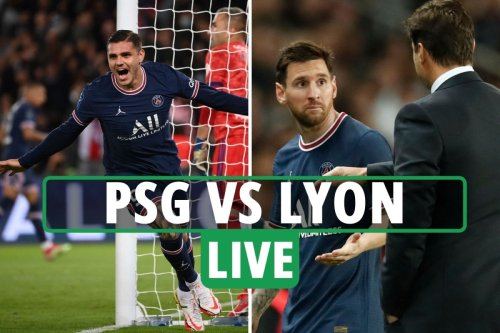 PSG vs Lyon LIVE: Follow all the latest from Ligue 1 clash in Paris