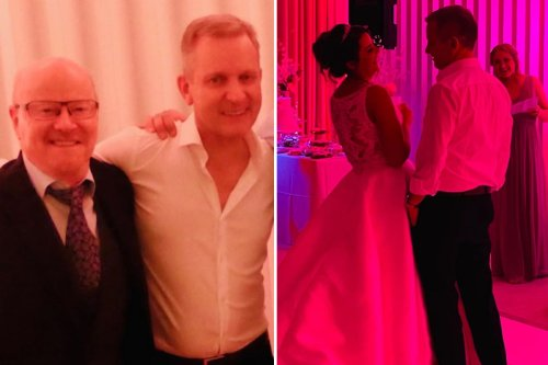 Jeremy Kyle's TV show pal posts unseen pics of his wedding - and boozy reception
