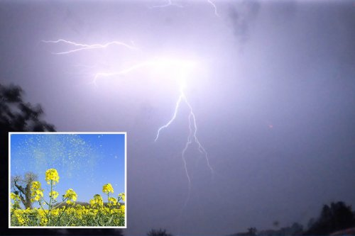 'Thunder fever' warning as UK braces for storms - here are the key symptoms