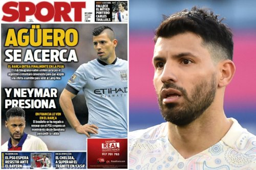 Barca to step up Sergio Aguero chase amid Chelsea, Arsenal & Juve interest