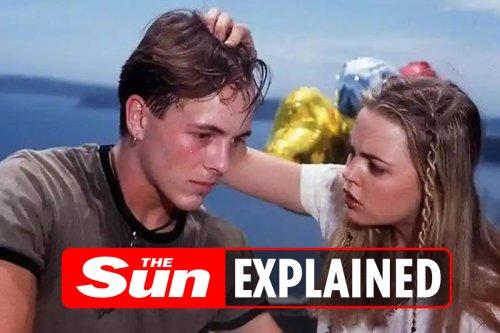 What happened between Dieter Brummer and Melissa George?