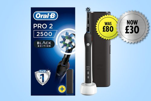 Oral-B Pro CrossAction Electric Toothbrush is now 59% off