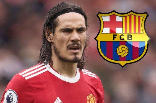 Barcelona to launch crazy Cavani loan bid for 'unsettled' Man Utd star