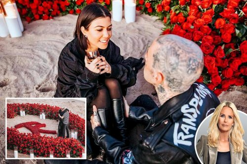 Travis Barker's proposal to Kourtney Kardashian was nothing short of vulgar