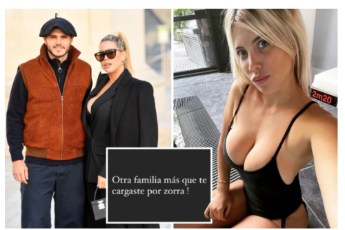 Wanda 'splits from Mauro Icardi' after accusing him of cheating and unfollowing