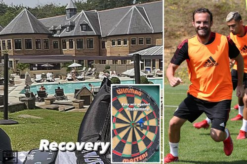 Inside Man Utd's training camp at Surrey spa hotel that's home of England rugby