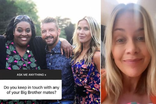 Kate Lawler is still in touch with her Big Brother housemates including Jonny the fireman 19 YEARS after winning show