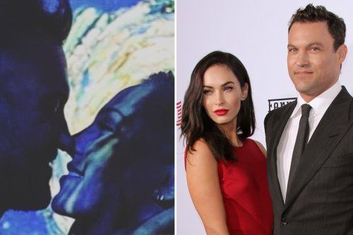 Brian Austin Green shades ex Megan Fox as he gushes new girlfriend Sharna 'accepts him' in a way he's never felt before
