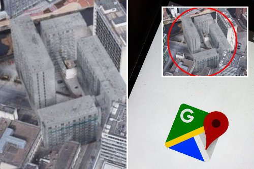 Google Maps user finds spooky 'phantom building' that 'is not real'