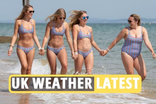 Brits to sizzle in 30C heatwave as latest lockdown rules lift ahead of Bank Hol