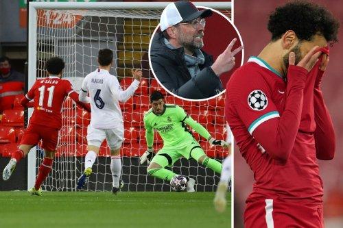 Liverpool crash out of Champions League as they struggle at home again