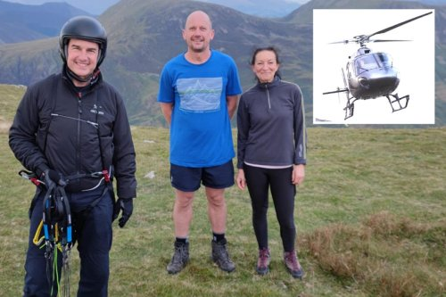 Man stunned as Tom Cruise parachutes into middle of Lake District hike