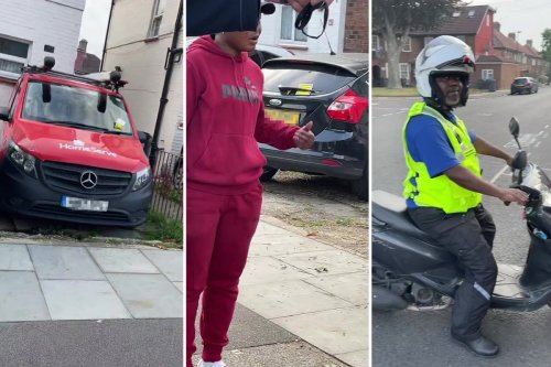 Furious locals confront inspector for 'fining cars in their OWN driveways'