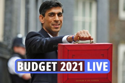 Live Budget 2021 news & updates as Rishi announces 30p RISE on pints of beer