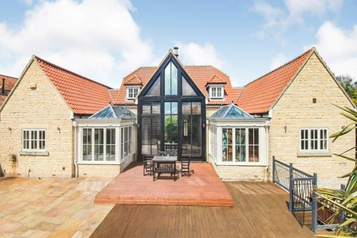 Five-bed mansion on sale for £1.2m is hiding a fun-filled garden