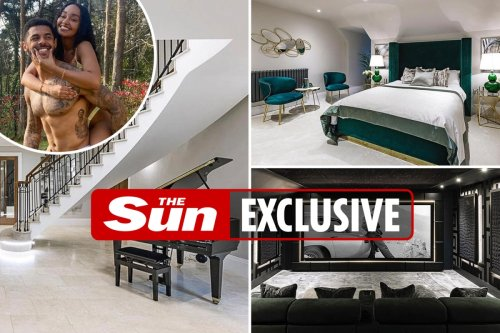 Inside Little Mix star Leigh-Anne Pinnock's home she shares with fiancé Andre