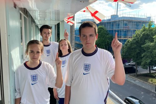 'Killjoy' council orders family to pull down 'fire risk' England flags