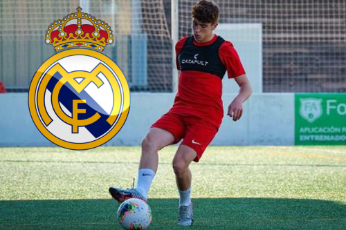 Real Madrid on verge of snapping up wonderkid Munoz from under Barcelona's nose