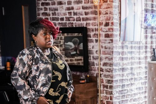 EastEnders' Kim Fox takes on Phil Mitchell over Vincent's murder