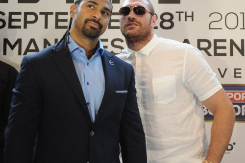 David Haye, 40, told to 'behave himself' after shock call-out of Tyson Fury