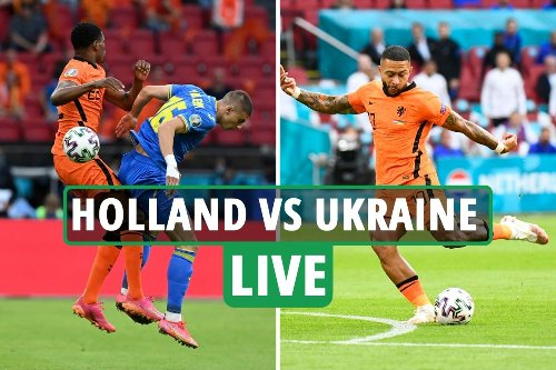 Holland vs Ukraine LIVE: Latest updates from Euro 2020 match