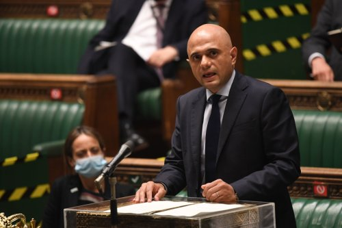 Sajid Javid to unveil Winter Covid Plan in Commons this LUNCHTIME