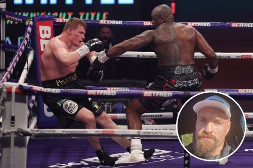 Fury congratulates Whyte for avenging loss to '110 year old' Povetkin