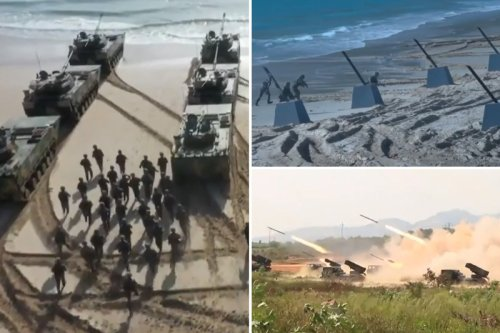 WW3 fears as China stages 'Taiwan invasion' drills and boasts about victory