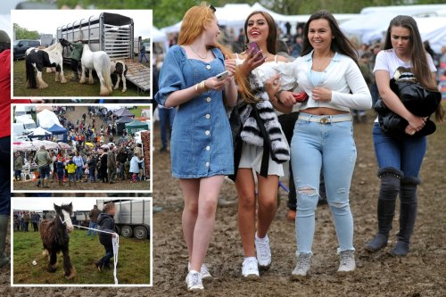 Travellers flood to town after Covid postponed 500-yr-old horse festival