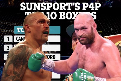 Best P4P boxers revealed with Fury jumping up list and Usyk leapfrogging Joshua