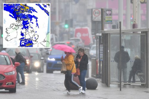 Ten days of storm hell to hit from TOMORROW with snow predicted this week
