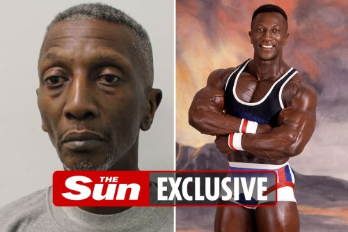 Mugshot of ex-TV Gladiator Shadow shows him on drugs and dead-eyed