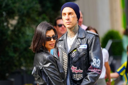 Kourtney & Travis are engaged after drummer proposes at beachside hotel