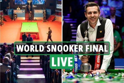 World Snooker Championship final 2021 LIVE: Mark Selby vs Shaun Murphy updates
