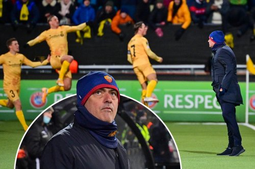 Mourinho suffers heaviest ever defeat as Roma thumped 6-1 by minnows Bodo/Glimt