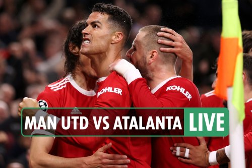 Man Utd vs Atalanta LIVE: Latest updates from Champions League match