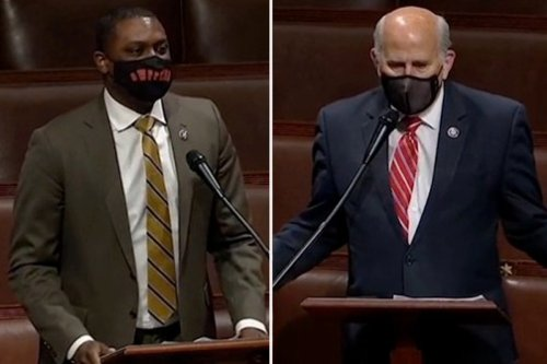 House erupts as bill passed to make DC a state and Dems slam GOP 'racist trash'