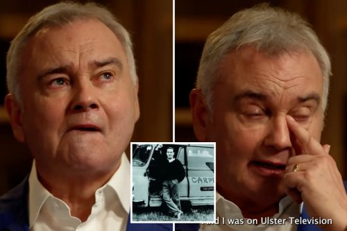 Eamonn Holmes breaks down in tears over his late dad 31 years after his death