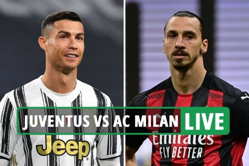 Juventus vs AC Milan LIVE: Follow all the latest from Serie A clash