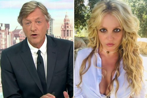Richard Madeley slams Britney Spears' conservatorship saying 'it's a disgrace'