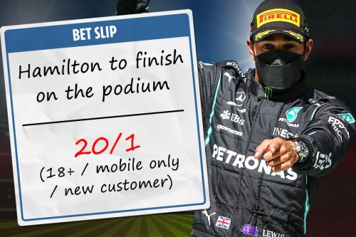 F1: 20/1 odds boost for Lewis Hamilton finish in the top three at the Spanish GP