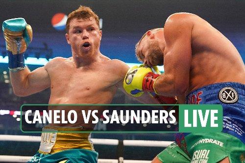 Canelo Alvarez vs Billy Joe Saunders LIVE RESULTS: Thriller UNDERWAY - latest round-by-round fight updates