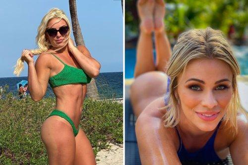 Paige VanZant, Mandy Rose & Mia Yim show off bikini bods in the sunshine
