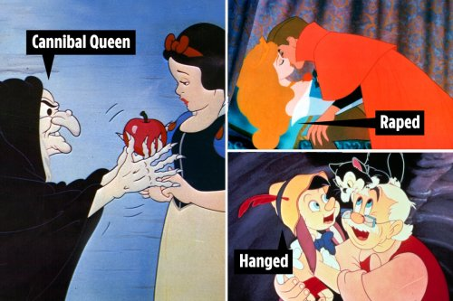 Snow White was hunted by cannibal queen & Sleeping Beauty raped - the gruesome stories behind classic Disney fairy tales