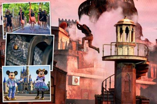 Orlando's mega-theme parks boast new rides as US reopens to Brits